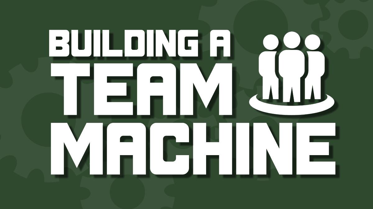 Building A Team Machine Speech